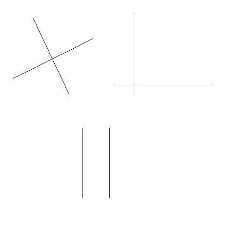 Geometrie: Gerade, Halbgerade und Strecke
