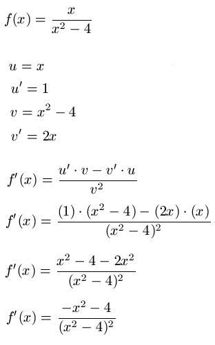 Ableitung: Produktregel und Quotientenregel (Ableitungsregel)