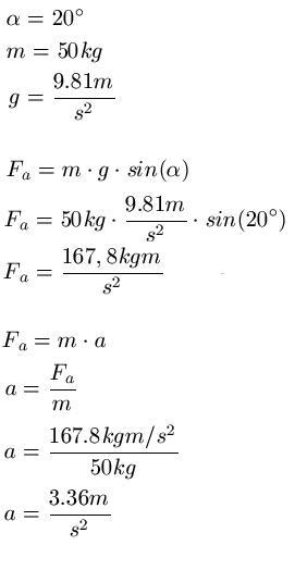 Beschleunigungskraft Berechnen : schiefe ebene physik ~ Themetempest.com Abrechnung